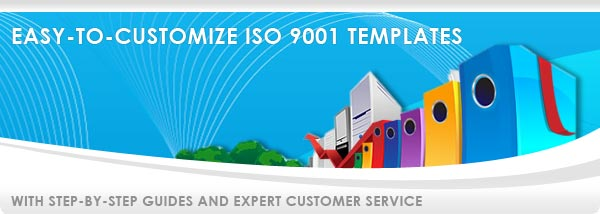 Templates for ISO 9001 Customization