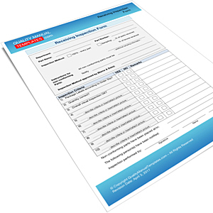 Receiving Inspection Form